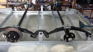 Tandem Trailer axle kit, Rocker Springs, 8x5, 10x5, Full Kit. Suspension, NEW