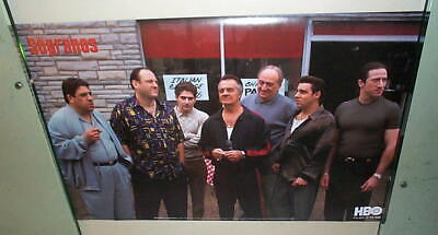The Sopranos Group 2001 Vintage Poster