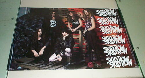 SKID ROW Group 1990 Vintage Poster