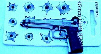 """(1) House Key blank """"45mm"""" looks like a Beretta 9mm for  kwikset lock"""