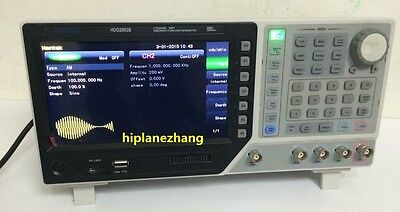 2ch 60mhz 250msas Function Signal Arb. Waveform Generator Usb 7tftlcd Hdg2062b