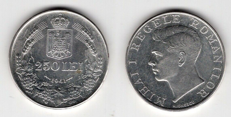 RUMÄNIEN   250 Lei 1941   Mihai I.