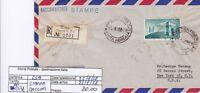 Storia Postale - Repubblica Isolati - Pei0138 - Stampe Raccom Per Usa - 20.00€ - isola - ebay.it