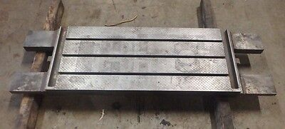 54 X 16 X 3 Steel Welding T-slotted Table Cast Iron Layout Plate3 Slot