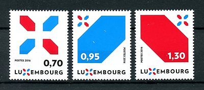 Luxembourg 2016 MNH New Signature Let's Make it Happen 3v Set Stamps