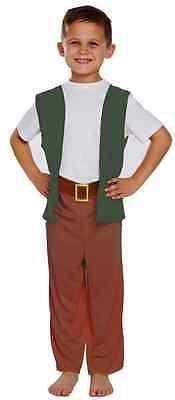 Jungen Freundlich Giant Schule World Buchwoche Kostüm Outfit 4-12 (Schule Freundlich Kostüm)