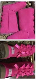 Pink uggs size 7