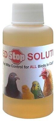 50ml Red Stop Solution In Drinking Water Red Mite Control Birds Chickens Pigeons