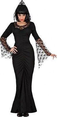 Déguisement Femme DEMON Noir ENFERS XL 44 Adulte sorcière halloween - Kostüm Sorciere Halloween