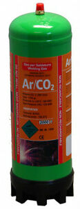 MIG WELDING GAS Argon/Co2 2.2LTR CYLINDER