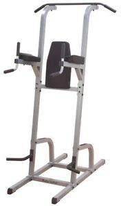 Body Solid Knee Raise, Dip Station and Pull up Station