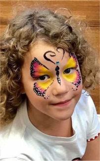 Face painting$80 per hr ,Facepainter +Balloon Twisting & Henna Tattoo