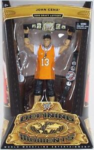 WWE DEFINING MOMENTS - JOHN CENA Wrestling figure Series 5 NIP Mattel