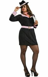 Plus size Halloween costume - female gangster/moll