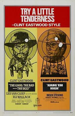 Hang Em High Movie Poster 27X40 D Clint Eastwood Inger Stevens Ed Begley Sr  Pat