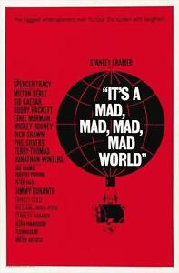 It's a Mad, Mad, Mad, Mad World 27 x 40 Movie Poster C
