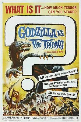 MOTHRA VS. GODZILLA Movie POSTER 27x40