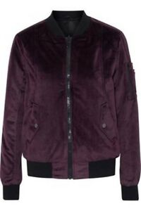 John + Jenn purple suede jacket- new