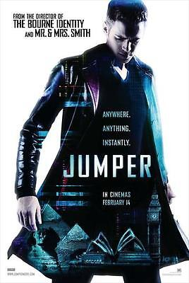 Jumper Movie Poster 27X40 Uk Hayden Christensen Samuel L  Jackson Diane Lane