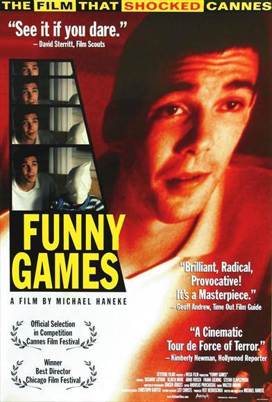FUNNY GAMES Movie POSTER 27x40