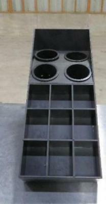 Dispense-Rite Countertop Flatware & Condiment Organizer dispenser rack SWCH-1BT