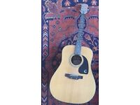 Gibson Epiphone acoustic guitar PR200 in excellent condition