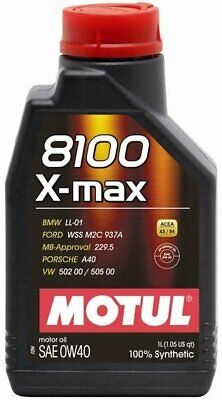 Olio Motore Auto Motul 8100 X-Max 0W40 - 1 lt