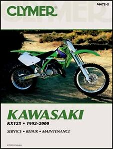 472 KAWASAKI KX125 KX 125 SERVICE REPAIR MANUAL 92 93 94 95 96 97 98 99 00