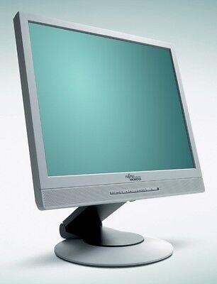 Fujitsu Siemens B17-2 43,2cm (17) LCD Monitor 8ms VGA DVI Grau mit Lautsprecher