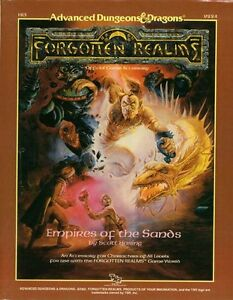 Livre AD&D sans carte Forgotten Realms Empires of the Sands Saguenay Saguenay-Lac-Saint-Jean image 1