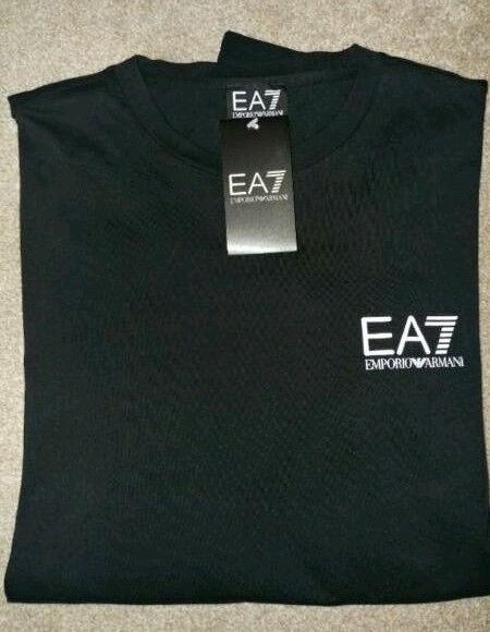 Emporio Armani EA7 Sleeve Logo Longsleeve T-Shirt Size:M