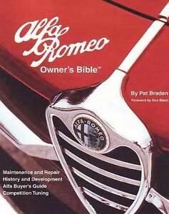 Alfa Romeo Owners Bible 1954 Onwards Service Manual Hazelbrook Blue Mountains Preview