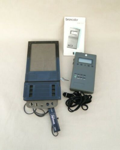 broncolor FCM light meter with probe attachment, instruction manual