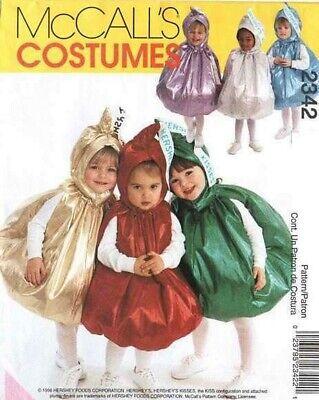 McCall 2342 Hershey Kiss Infant&Toddler Costume Pattern](Baby Hershey Kiss Costume)