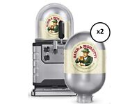 BLADE BEER MACHINE + 2 X MORETTI KEGS - BRAND NEW & BOXED