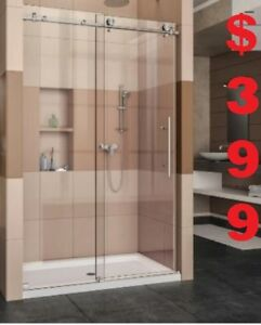 BATHROOM VANITY . SHOWER DOOR. BATHTUB. SHOWER PANEL FROM $168