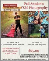 Fall Mini Sessions by YSM Photography