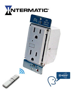 New Intermatic Home Settings Z-wave Wall Receptacle/Outlet HA01