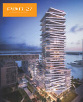 Pier 27 Condos Phase 3 -Toronto's #1 Waterfront Investment $300k