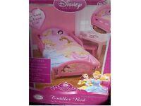 Childs Disney Princess Bed and mattress