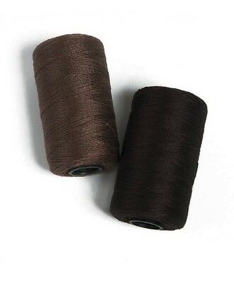 Jumbo Weaving Thread 200 yds Brown