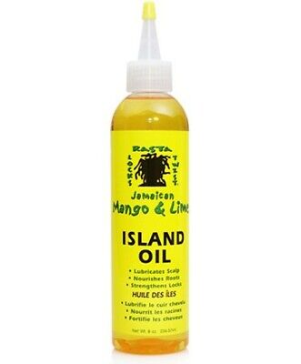 Jamaican Mango & Lime Island Oil for scalp and roots 8 oz