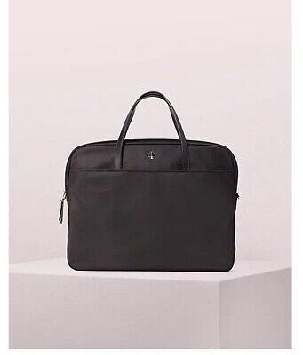 ❤️NWT Kate Spade Taylor Universal Laptop Bag black satchel tote purse