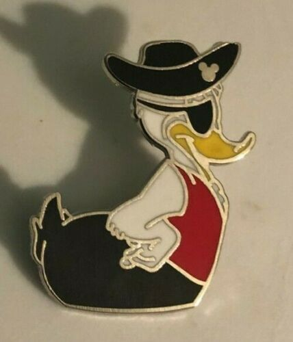 DISNEY TRADING PIN -  RUBBER DUCKY DONALD DUCK AS PIRATE