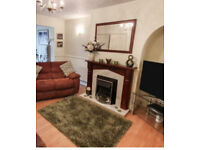 LARGE WOODEN FRAMED MIRROR GREAT FOR OVER A FIRE PLACE OR LIVING ROOM