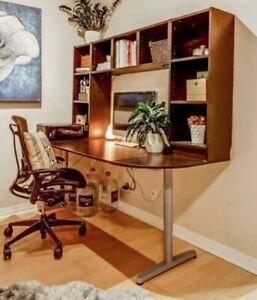 Desk with Shelf System