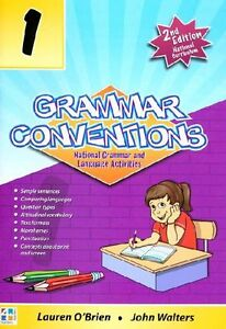 GRAMMAR CONVENTIONS Book 1,2,3,4,5or6 BNew English Australian Curriculum kids