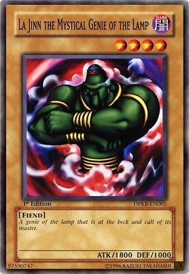 Genie Of The Lamp (Yugioh! La Jinn the Mystical Genie of the Lamp - DPKB-EN005 - Common - 1st)
