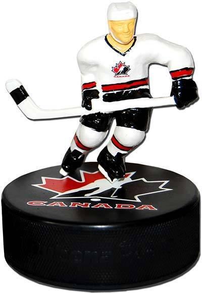 Figurine Hockey Puck & T-Shirt on Team Canada Hockey  SALE