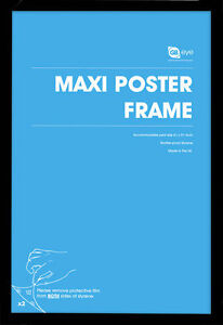 Wooden Maxi Poster Frame - 61x91.5cm / 24x36